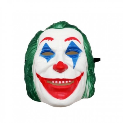 Halloween Costume Cosplay Party Joker Clown Mask