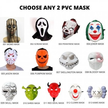 Halloween Costume Cosplay Party Bloody Mask