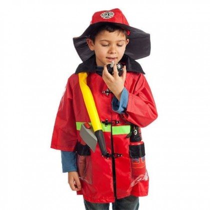 Kids Perform Costume Baby Cosplay Clothes Chef Doctor Fireman Police Uniform