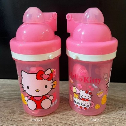 Hello Kitty Drinking Pink Bottle With Draw