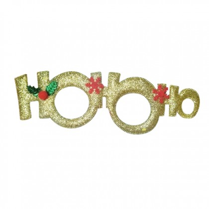 X'mas Shinny Spec With HOHOHO Christmas Glasses Frame