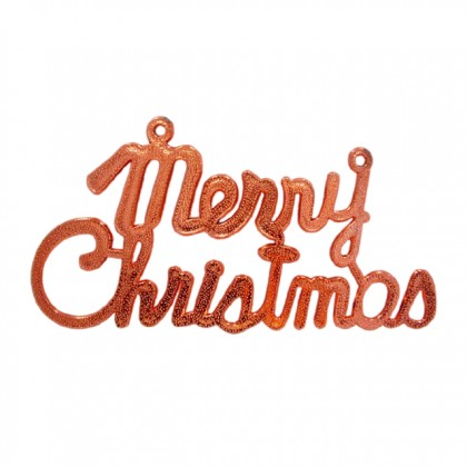 40cm Merry Christmas Wording Letter Hanging X'mas Board Signs