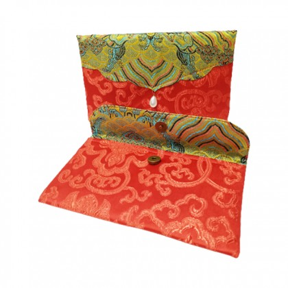 Chinese New Year CNY Multipurpose Pearl Wallet + Coin Purse Storage (2pcs/set)
