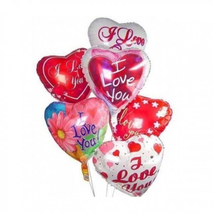 Love Shape I LOVE YOU Foil Balloon for Birthday Wedding Party Decorations