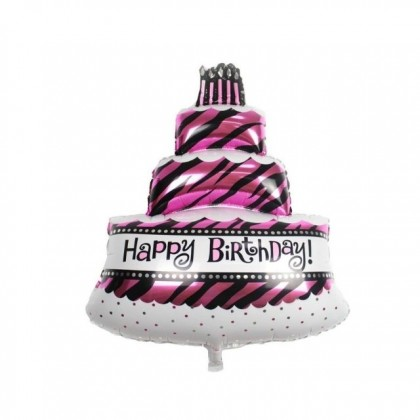 Happy Birthday Cake and Dessert Ice Cream Muffin Foil Balloons Birthday Party Decoration