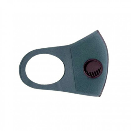 Adult Washable Face Mask Mouth Cover Dustproof Breath Valve PM2.5 3197