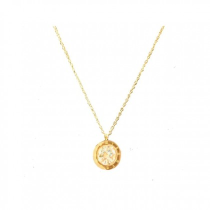 Hannah Creation Necklace Pendant Rose Gold Plated (18K) Gift For Her