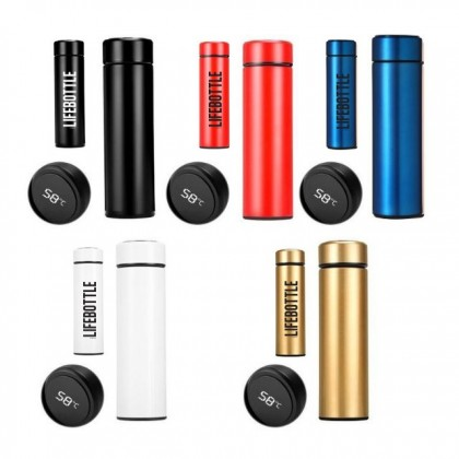 Customized Thermos Flask Bottle Name Personalized Gift for Her / Him