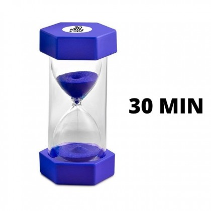 Sand Glass 10/20/30 Minutes Sand Clock Timer Game Gift