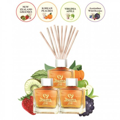 Naturalis Apothecary Scented Reed Diffuser - Fruity Series (100ml)