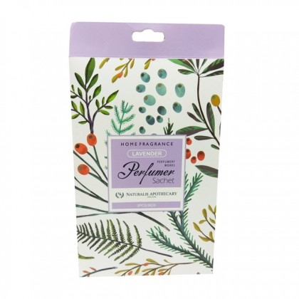 Perfumer Sachet By Naturalis Apothecary - Fruit Scent (3pcs in 1 box)