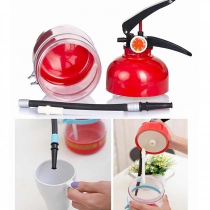 1.5L Fire Extinguisher Cocktail Shaker Bar Tools Accessories