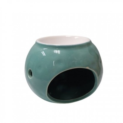 Naturalis Apothecary Round Ceramic Fragrance Aroma Oil Burner