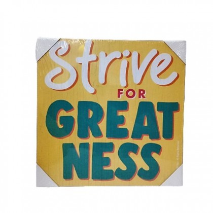 """JEEZ Wood Life sign 30""""x30"""" Positive Quote Wall Hanging Décor"""
