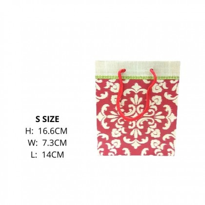 DTP S Size Paper Bag Dot / Birthday / Colorful Flower Series