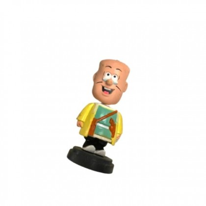CLEARANCE STOCK Collectible Figures Master Q Lao Fu Zi and Big Potato Shaking Sculptures