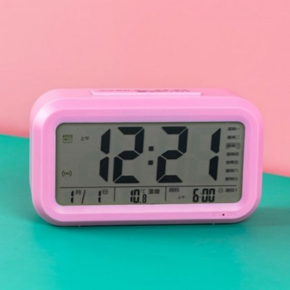Jeez LED Multi-function Digital Clock with Alarm / Calendar / Temperature / Hourly Chime / Tunes