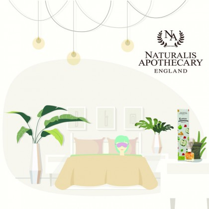 Naturalis Apothecary Scented Reed Diffuser (100ml)
