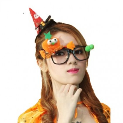 Halloween Props Cute Pumpkin Glasses Party/Festival
