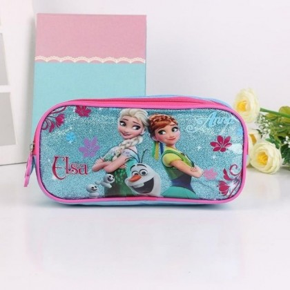 Frozen Pencil Case - Elsa And Anna Cartoon Disney Gift for Kids Girl Birthday Party Favors Door Gifts