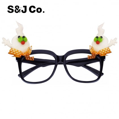 Halloween Decor Costume Cosplay Props Party Glasses Ghost Ornaments