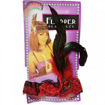 Feather Hairband - Mix Colorful Masquerade Costume Party Halloween
