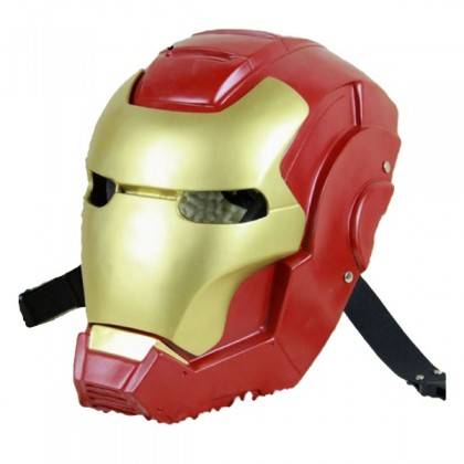 Halloween Costume Cosplay Iron Man Mask Avengers for Kids Adults