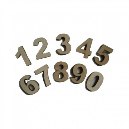 Touchwood Mini Number Letters Set