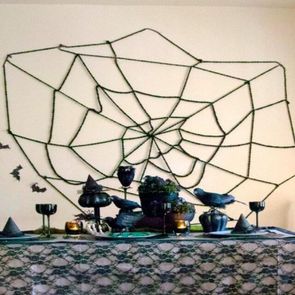 Halloween Scary Toy Spider Deco (Large)